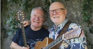 Mick Hanly and Dónal Lunny