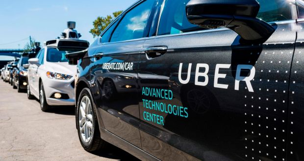 Uber and Deliveroo have come to symbolise the gig economy worker. Photograph: Getty Images