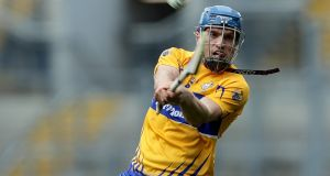 Shane O'Donnell: back in the Clare fold  in advance of the championship which starts next month with a visit to Waterford.   Photograph: Laszlo Geczo/Inpho