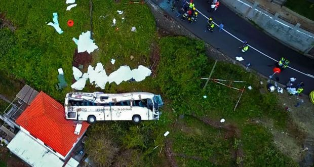 Madeira begins three days of mourning after bus crash that