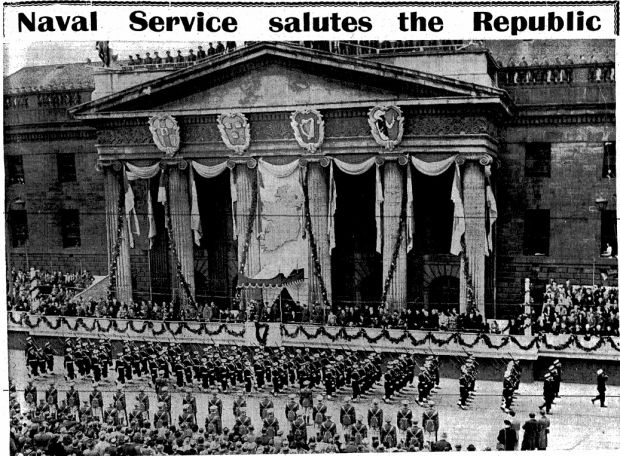 The scene at the GPO on Easter Monday, 1949, from the week's Times PictorIal