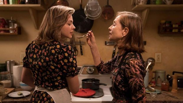 New this week: Isabelle Huppert and Chloë Grace Moretz in Greta