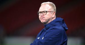 Alex McLeish has been sacked as Scotland head coach, the Scottish Football Association has announced. Photo: Jane Barlow/PA Wire