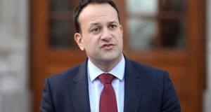 "An Taoiseach, Leo Varadkar TD: ""We will ensure that people in Northern Ireland will still have access to European Health Insurance Cards."" File Photograph: Dara Mac Donaill"