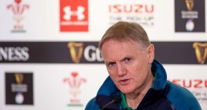 Ireland head coach Joe Schmidt will cut his World Cup squad from 45 down to 31. Photo: Morgan Treacy/Inpho