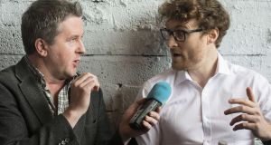 Web Summit founder Paddy Cosgrave  kept his silence when he was  interviewed by   Philip Boucher-Hayes on Tuesday's edition of Drivetime. Photograph: Dave Meehan