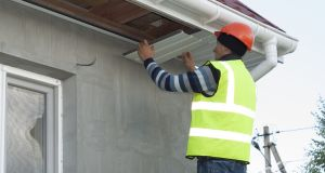Upgrading of fascia and soffits is usually a straightforward operation. Photograph: iStock