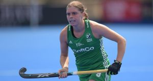 Ireland's Katie Mullan: in Germany champions Club an der Alster's squad. Photograph: Joe Toth/Inpho