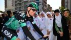 Sam Bennett of Ireland and Team Bora-Hansgrohe. Photograph: Justin Setterfield/Getty Images