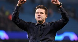 "Mauricio Pochettino: ""This is a massive example for us – how important it is never to give up, to always have the faith and believe in yourself.""  Photograph:  Laurence Griffiths/Getty Images"
