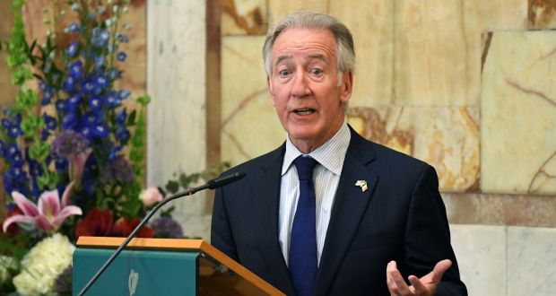 US congressman Richard Neal said the UK and EU must preserve the sanctity of the Belfast Agreement. Photograph: Clodagh Kilcoyne/Reuters