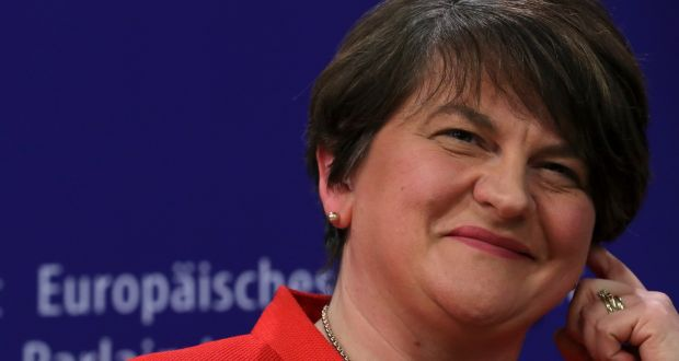 "DUP leader Arlene Foster: ""People are using the Belfast Agreement for all sorts of spurious reasons."" Photograph: Reuters"
