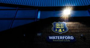 Waterford FC will not be allowed to compete in the Europa League this season. Photo: Tommy Dickson/Inpho