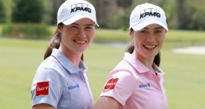Leona and Lisa Maguire recently signed a sponsorship deal with wealth management provider, Davy. Photograph: Getty Images
