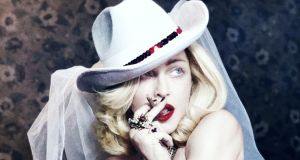 Madonna: the singer has entered a culture war about what pro-Palestinian advocates refer to as 'apartheid Israel'