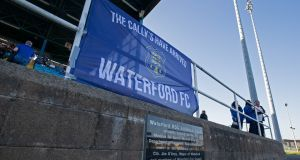 Waterford FC will appeal the decision made by Uefa not to grant a licence for their participation in the Europa League. Photo: Laszlo Geczo/Inpho