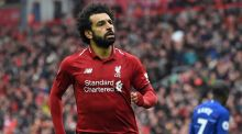 Liverpool striker  Mohamed Salah has been named as one of the 100 most influential people in the world by Time magazine. Photograph:  Paul Ellis/AFP/Getty Images