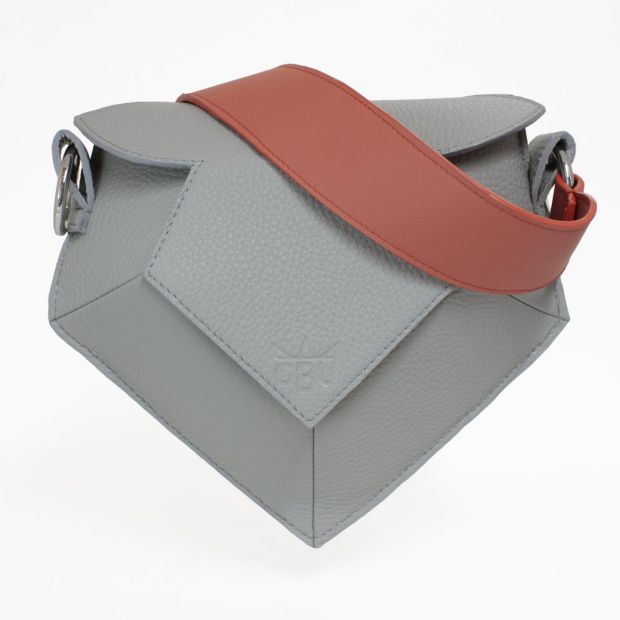 The Crown Jewel - grey with coral strap. €975 by QBU