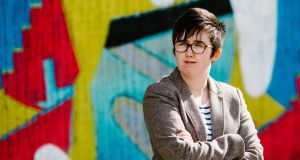 Journalist Lyra McKee was shot dead overnight during riots in the Creggan area of Derry, in what police are treating as a terrorist incident following the latest upsurge in violence to shake the troubled region. Photograph: Photo by Jess LOWE/AFP/Getty images