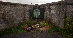 St Mary's mother and baby home in  Tuam: fifth interim report says the burial locations of hundreds of children who died in the State's homes remain unknown. Photograph: Paulo Nunes dos Santos/New York Times