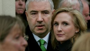 Property developer Seán Dunne and his wife, Gayle Killilea.