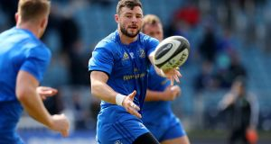 Leinster centre   Robbie Henshaw Henshaw adds so much to their defence, and their go-forward ball. Photograph: Ryan Byrne/Inpho