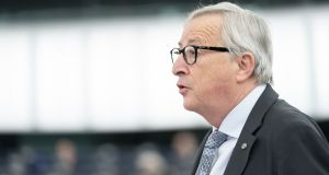 Jean-Claude Juncker, president of the European Commission. Photograph: Jasper Juinen/Bloomberg