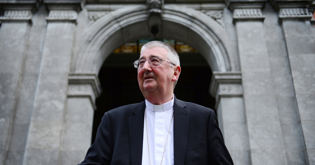 Archbishop Diarmuid Martin at the Archbishop's House in Drumcondra, Dublin. Photograph: Bryan O Brien/The Irish Times.