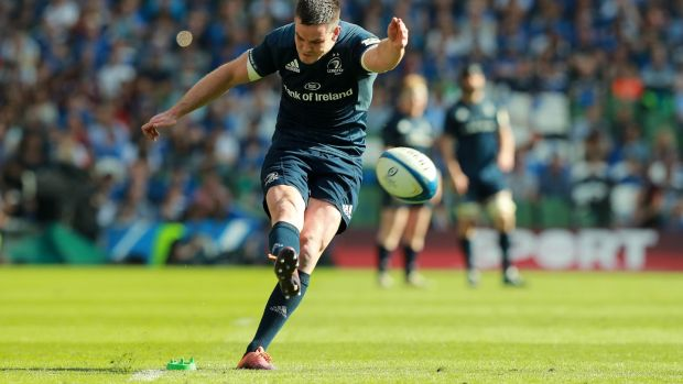 Johnny Sexton was named man of the match in Leinster's win over Toulouse. Photograph: David Rogers/Getty