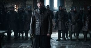 Game of Thrones: the army of the dead approaching. Photograph: HBO
