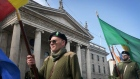 Republican Sinn Féin march on O'Connell Street to commemorate 1916