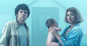 Starring Jesse Eisenberg and Imogen Poots, Lorcan Finnegan's science fiction film Vivarium was supported by Screen Ireland.
