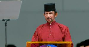 The sultan of Brunei, Hassanal Bolkiah, has ruled the former British colony since 1967. Photograph: EPA/STR