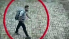 Video shows suspected suicide bomber entering Sri Lanka church