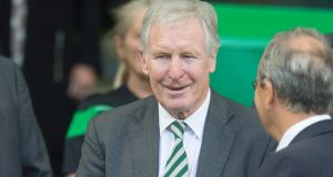 Celtic have announced the death of former captain Billy McNeill at the age of 79. Photograph: PA