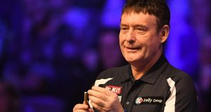 Jimmy White during the BetVictor Snooker Shoot Out earlier this year. Photograph: Getty Images