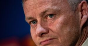 Manchester United manager Ole Gunnar Solskjaer says his players are hurting after Everton defeat. Photograph: PA