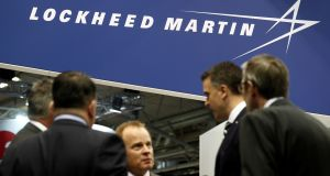 Lockheed Martin reported a better-than-expected 47 per cent jump in quarterly profit on Tuesday and raised its annual profit forecast, helped by strong demand for its missiles and fighter jets, sending its shares up 6 per cent.