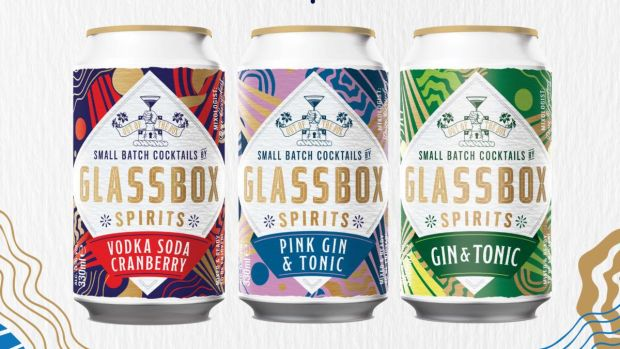Cocktails in cans from Glassbox