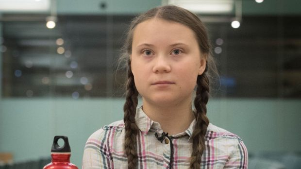 Swedish Climate Activist Greta Thunberg Meeting Leaders Of UK Political Parties At The House Commons