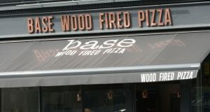 Base operates six high-end pizzerias, mostly around its stronghold of south Dublin. Photograph: Dave Meehan
