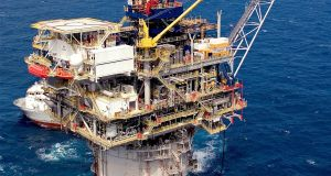 An Anadarko installation  in the Gulf of Mexico. Photograph: EPA