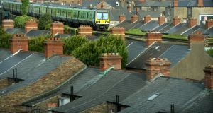 The rooftops of  Drumcondra. Photograph: Dara Mac Dónaill