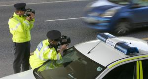 The Policing Authority was 'disappointed with the level of achievement' by the Garda in roads policing last year. Photograph: Alan Betson