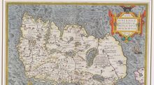 Lot 1117 Ortelius Map of Ireland 1598 €800-€1,200 Sheppard's