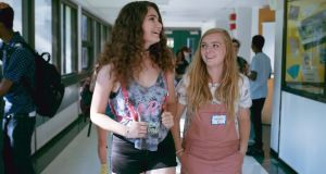 Higher learning: Emily Robinson and Elsie Fisher in Eighth Grade