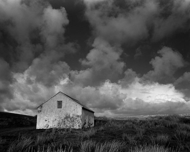 Shaping Ireland: The Big Sky, White Stable, 2012, by Amelia Stein