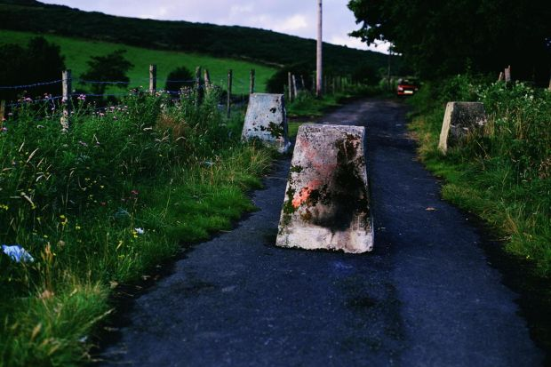 Shaping Ireland: Border Road, 1994, by Willie Doherty. Photograph: AIB Art Collection/Willie Doherty/Kerlin Gallery