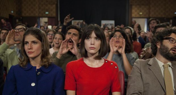 Art house: Stacy Martin in Redoubtable, Michel Hazanavicius's study of Jean-Luc Godard's second marriage