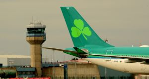 Aer Lingus received a warning from the national advertising watchdog after a customer complained that information on the cost of travelling with pets was misleading. Photograph: Cyril Byrne/The Irish Times